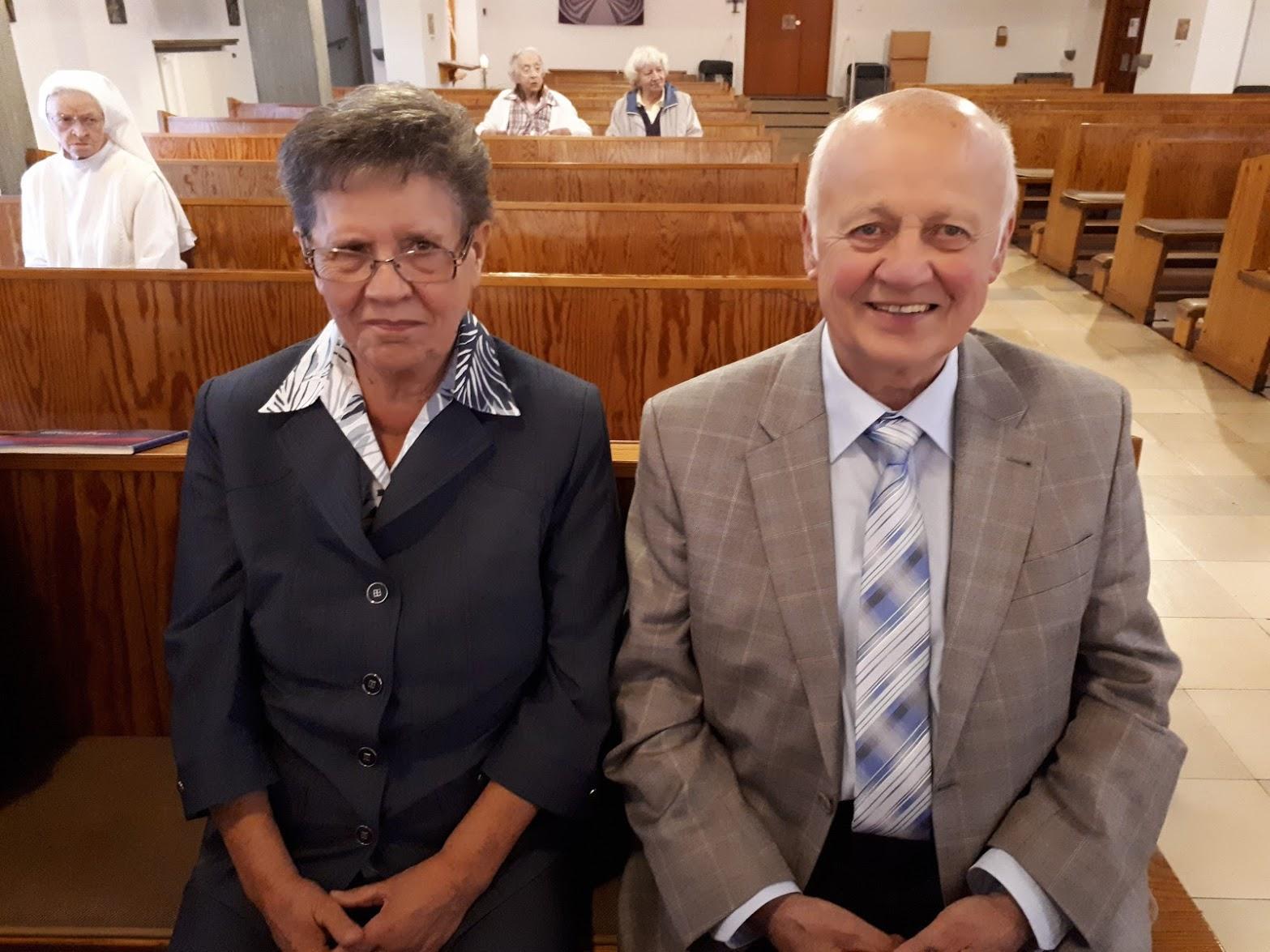 Familie Wortmann feiert Goldene Hochzeit im Kloster